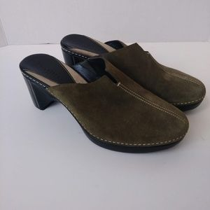 Cole Haan Shoes - Cole Haan Country Size 8.5 B Suede Clogs